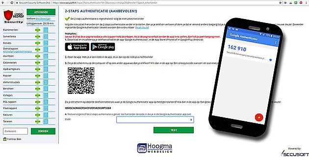 Jouw website extra beveiligd met onze 2-stapsverificatie - Hoogma Webdesign Beerta
