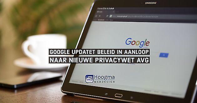 Google (Gmail) voldoet aan strenge eisen AVG - Hoogma Webdesign Beerta