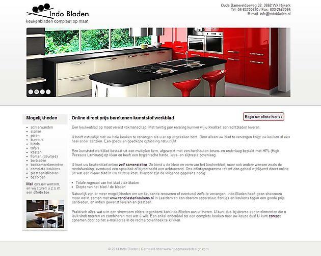 Indobladen, Nijkerk - Hoogma Webdesign Beerta