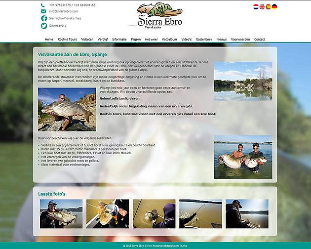 Sierra Ebro SL, Caspe (Spanje) - Hoogma Webdesign Beerta