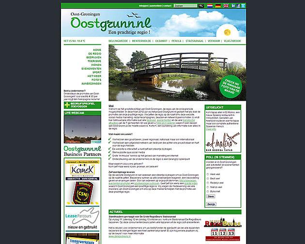Oostgrunn.nl, Beerta - Hoogma Webdesign Beerta