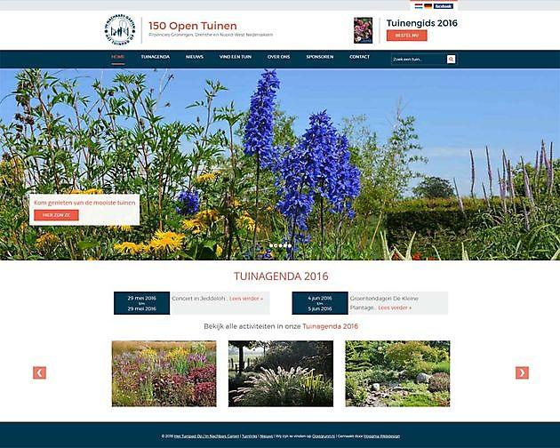 Stichting Het Tuinpad Op, Veendam - Hoogma Webdesign Beerta