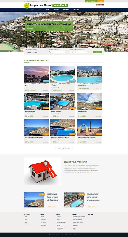 Properties Abroad, Gran Canaria (Spanje) - Hoogma Webdesign Beerta