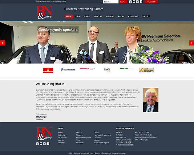 Business Networking & more, Oude Pekela - Hoogma Webdesign Beerta