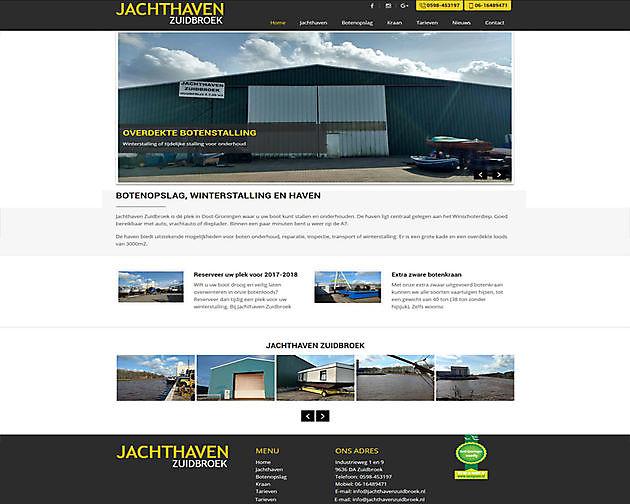 Jachthaven Zuidbroek, Zuidbroek - Hoogma Webdesign Beerta