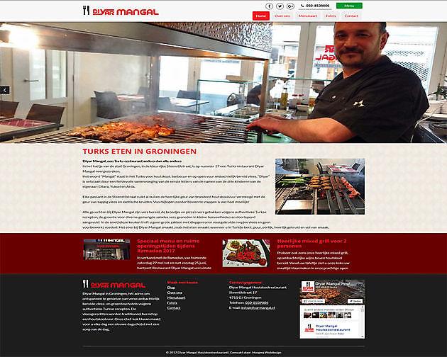 Diyar Mangal, Groningen - Hoogma Webdesign Beerta