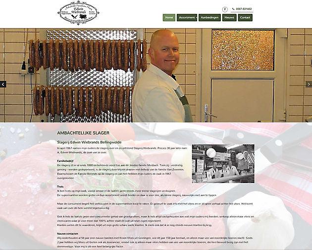 Slagerij Wiebrands, Bellingwolde - Hoogma Webdesign Beerta