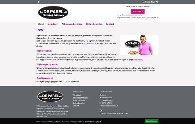 De Parel, Beerta - Hoogma Webdesign Beerta