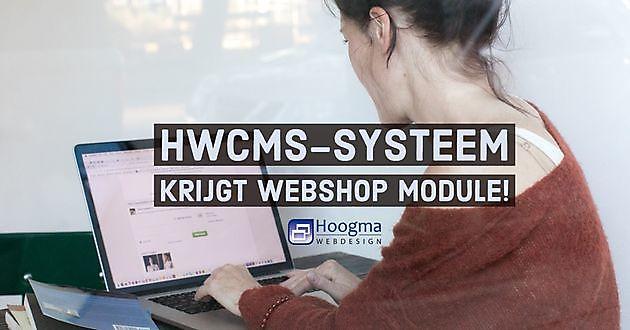 HWCMS krijgt webshop module - Hoogma Webdesign Beerta