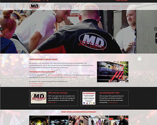 MD Security, _s-Hertogenbosch - Hoogma Webdesign Beerta