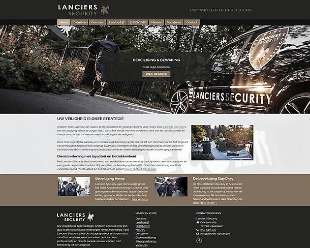 Lanciers Security, Apeldoorn - Hoogma Webdesign Beerta