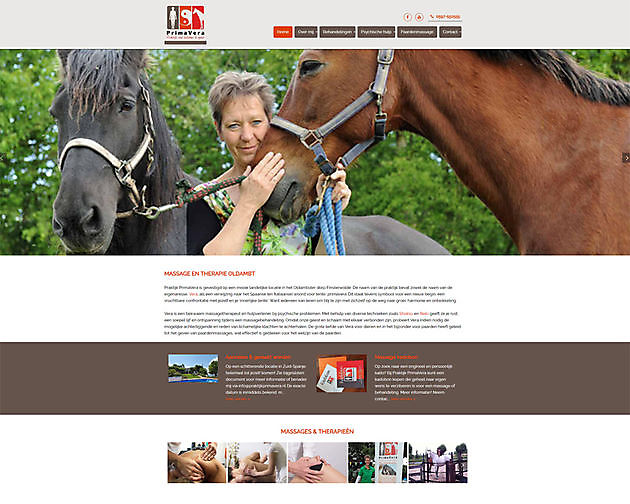 Praktijk PrimaVera, Finsterwolde - Hoogma Webdesign Beerta