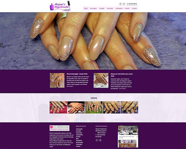 Mirjam's Nagelstudio, Beerta - Hoogma Webdesign Beerta