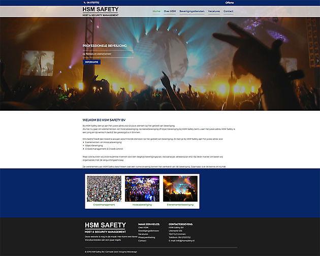 HSM Safety BV, Emmen - Hoogma Webdesign Beerta