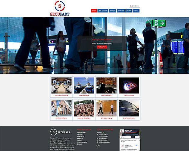 Secupart BV, Didam - Hoogma Webdesign Beerta