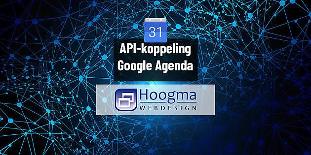API link made with Google Calendar - Hoogma Webdesign Beerta