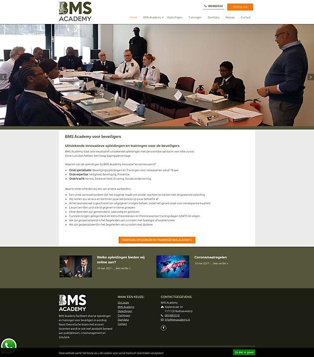 BMS Academy, Badhoevedorp - Hoogma Webdesign Beerta
