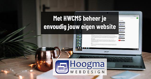 De voordelen van een website in HWCMS - Hoogma Webdesign Beerta