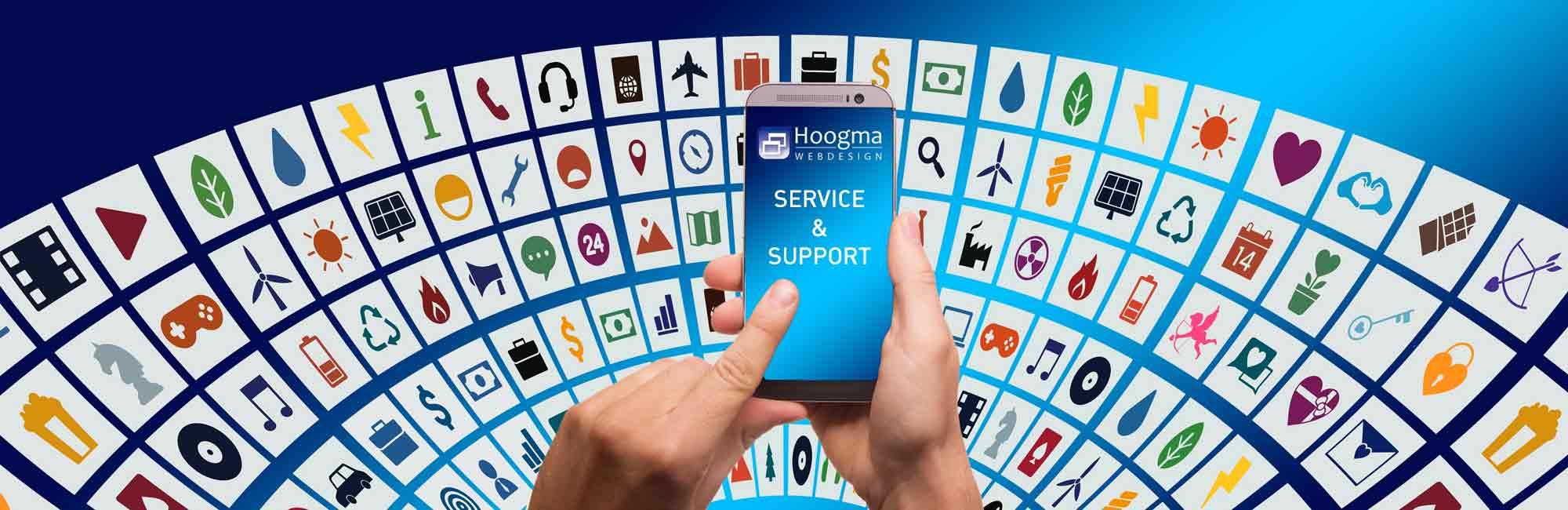 Service en support - Hoogma Webdesign Beerta