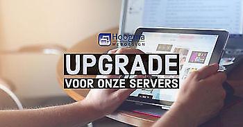 Servers van onze websites geüpgraded Hoogma Webdesign Beerta