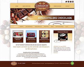 Chocovin Bonbons, Winschoten (The Netherlands) Hoogma Webdesign Beerta