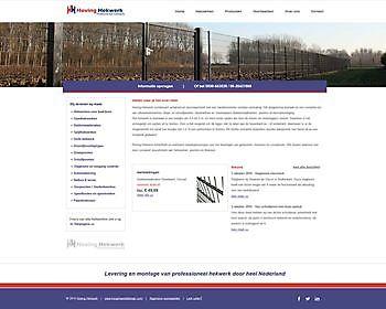 Hoving Hekwerk, Stadskanaal Hoogma Webdesign Beerta