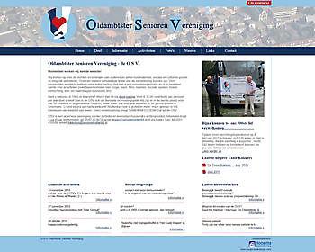 Oldambtster Senioren Vereniging Winschoten - Hoogma Webdesign Beerta