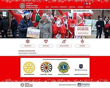Rotary SantaRun, Winschoten - Hoogma Webdesign Beerta