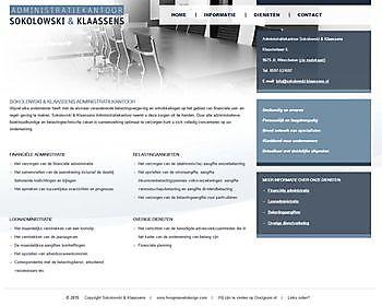 Sokolowski & Klaassens, Winschoten - Hoogma Webdesign Beerta