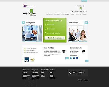 Werk&Zo, Winschoten (Nederland) - Hoogma Webdesign Beerta