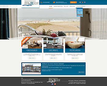 Appartementen Zeezicht, Katwijk - Hoogma Webdesign Beerta