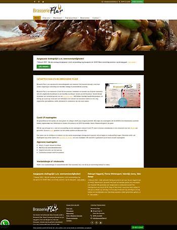Brasserie Flair, Gasselte Hoogma Webdesign Beerta
