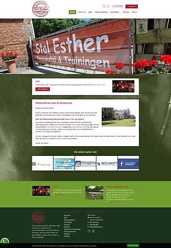 Stal Esther, Midwolda Hoogma Webdesign Beerta