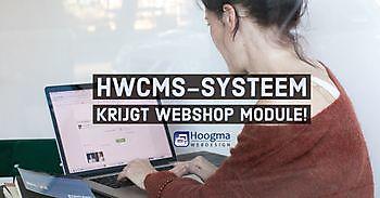 HWCMS krijgt webshop module Hoogma Webdesign Beerta