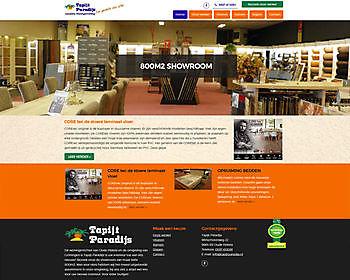 Carpet Paradise, Oude Pekela Hoogma Webdesign Beerta