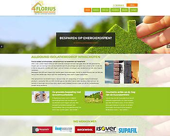 Florius Isolatie, Winschoten - Hoogma Webdesign Beerta