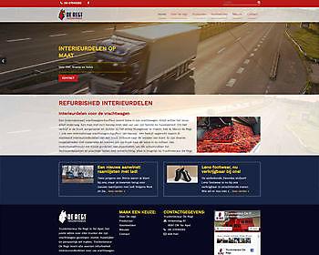 Truck interior De Regt, Ter Apel Hoogma Webdesign Beerta