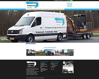 Kamperman Grondwerk, Scheemda - Hoogma Webdesign Beerta