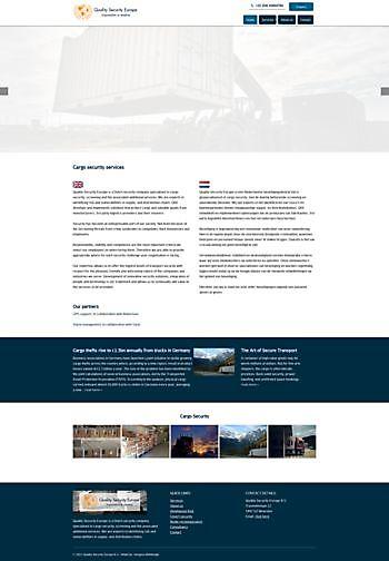 Quality Security Europe BV, Woerden Hoogma Webdesign Beerta