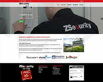 Beveiligingsbedrijf ZSecurity, Joure - Hoogma Webdesign Beerta
