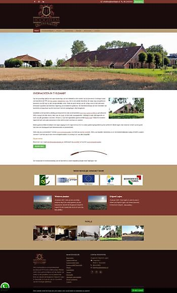 Hoogheem Logies, Nieuwolda Hoogma Webdesign Beerta