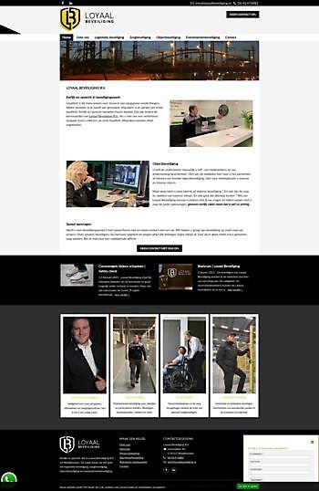 Loyaal Beveiliging, Waddinxveen Hoogma Webdesign Beerta