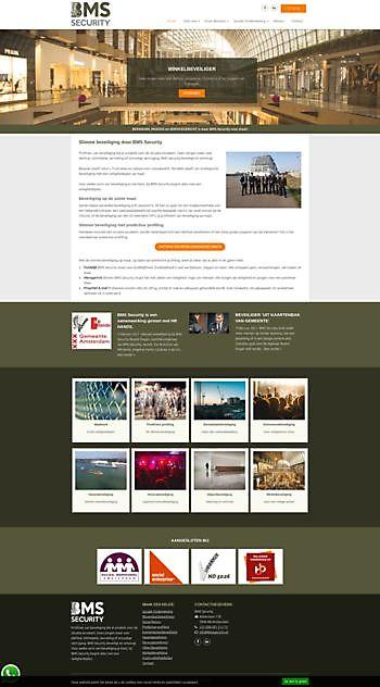 BMS Security, Badhoevedorp Hoogma Webdesign Beerta