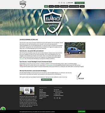 Saro-Security, Purmerend Hoogma Webdesign Beerta