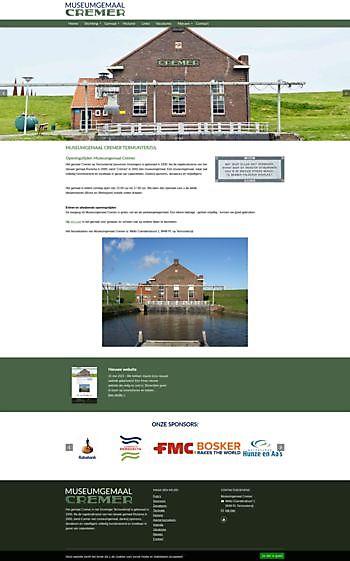 Museumgemaal Cremer, Termunterzijl Hoogma Webdesign Beerta
