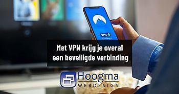 Altijd een veilige verbinding met VPN Hoogma Webdesign Beerta